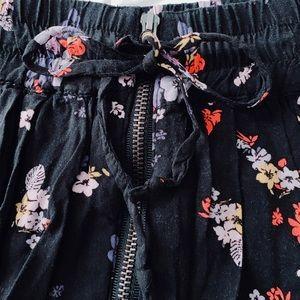 Garage Skirts - Garage Flowy Drawstring Skirt